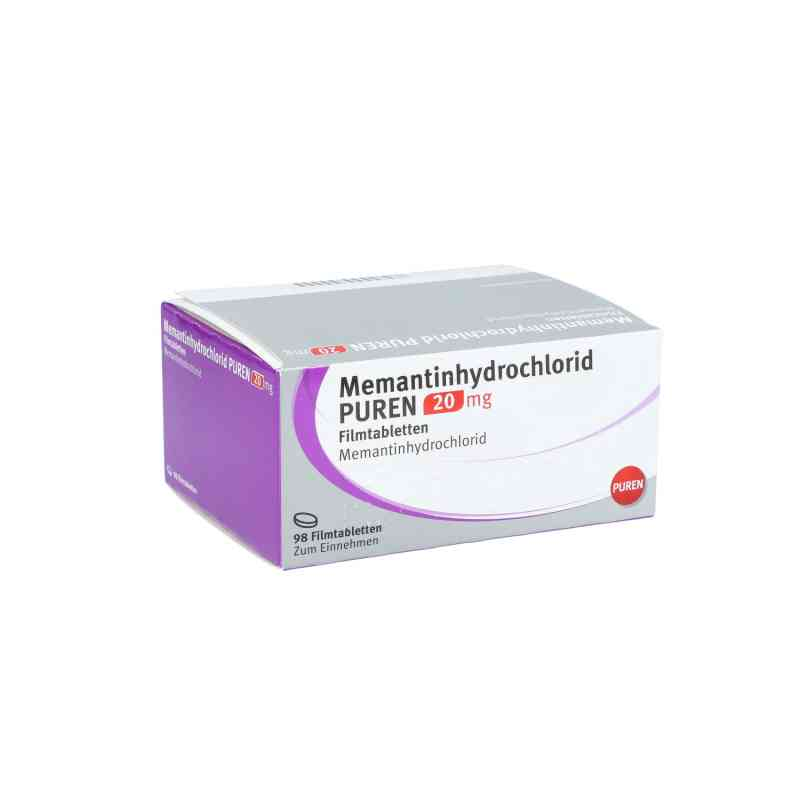 Memantinhydrochlorid Puren 20 mg Filmtabletten  bei apo.com bestellen