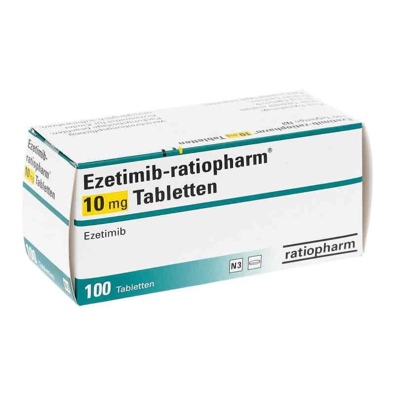 Ezetimib ratiopharm 10 mg Tabletten  bei apo.com bestellen