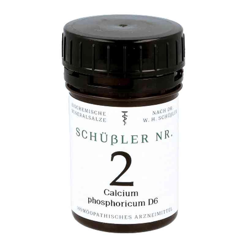 Schüssler Nummer 2  Calcium phosphoricum D 6 Tabletten  bei apo.com bestellen