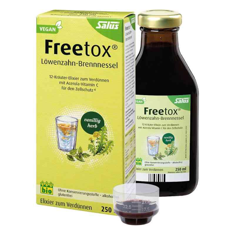 Freetox Löwenzahn-brennnessel 12-kräuter-elix.bio  bei apo.com bestellen