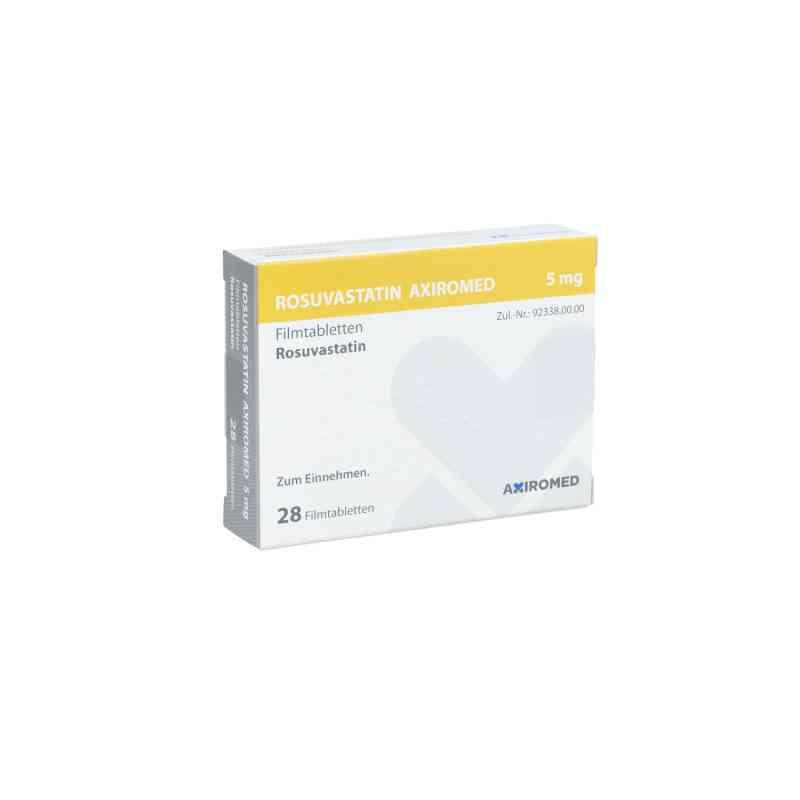 Rosuvastatin Axiromed 5 mg Filmtabletten  bei apo.com bestellen