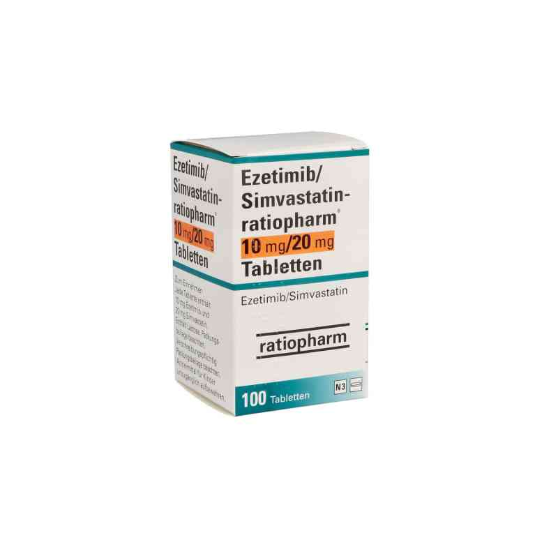 Ezetimib/simvastatin ratiopharm 10 mg/20 mg Tabletten  bei apo.com bestellen