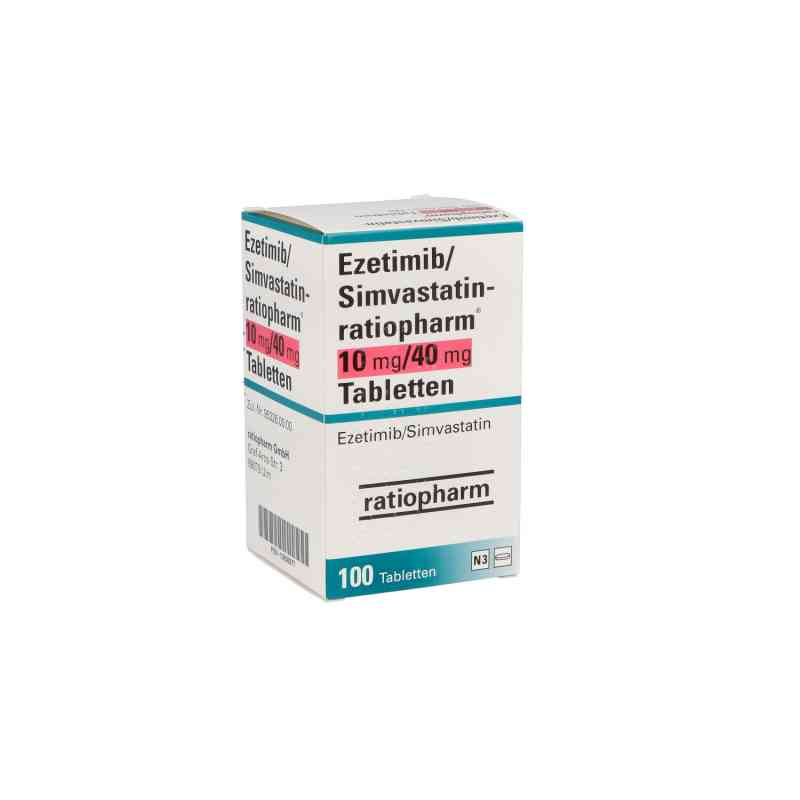 Ezetimib/simvastatin ratiopharm 10 mg/40 mg Tabletten  bei apo.com bestellen