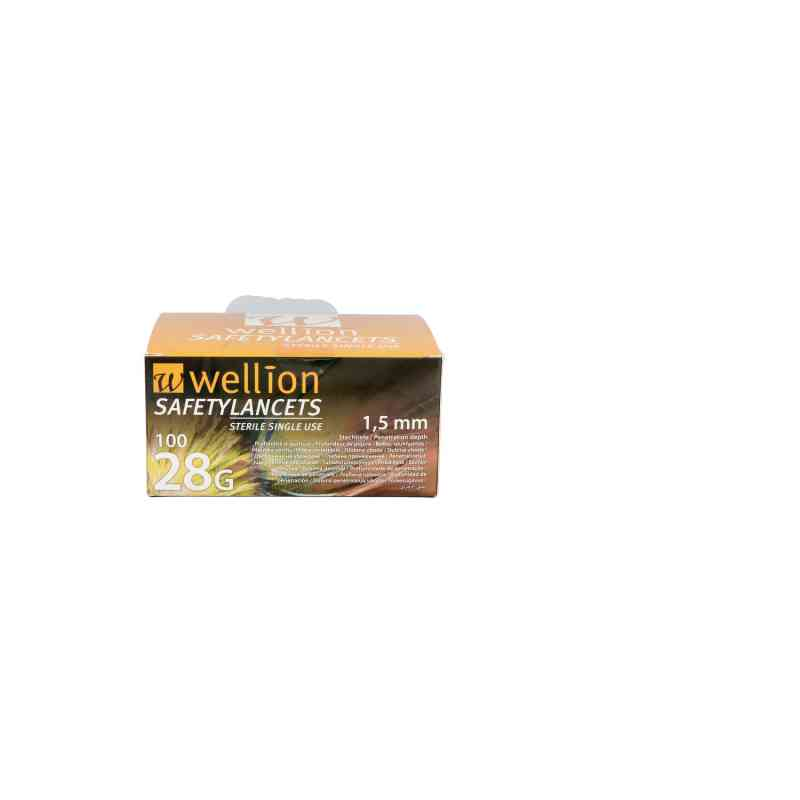 Wellion Safetylancets 28 G Sicherheitseinmallanz.  bei apo.com bestellen