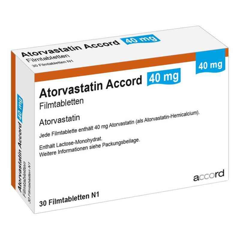 Atorvastatin Accord 40 mg Filmtabletten  bei apo.com bestellen