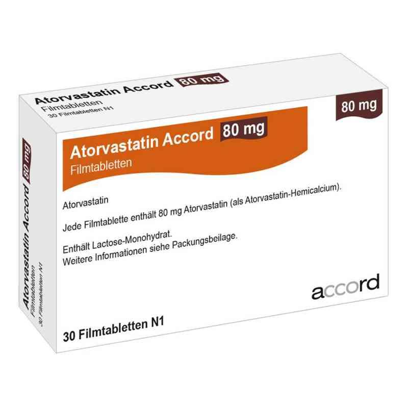Atorvastatin Accord 80 mg Filmtabletten  bei apo.com bestellen