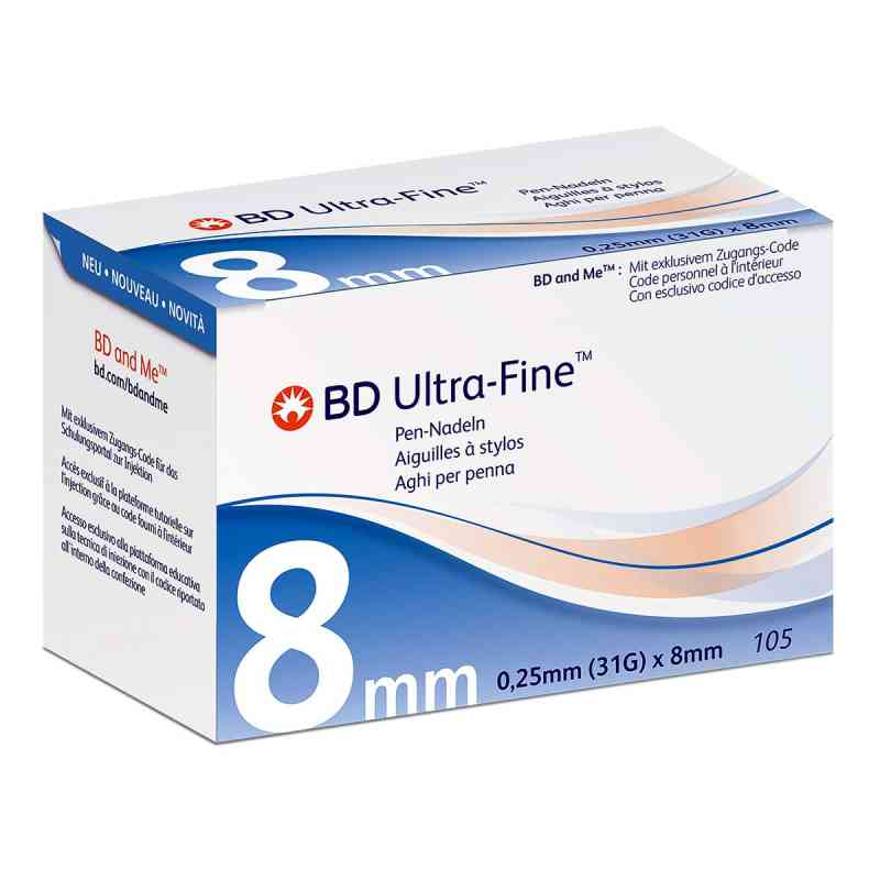 Bd Ultra-fine Pen-nadeln 8 mm 31 G  bei apo.com bestellen