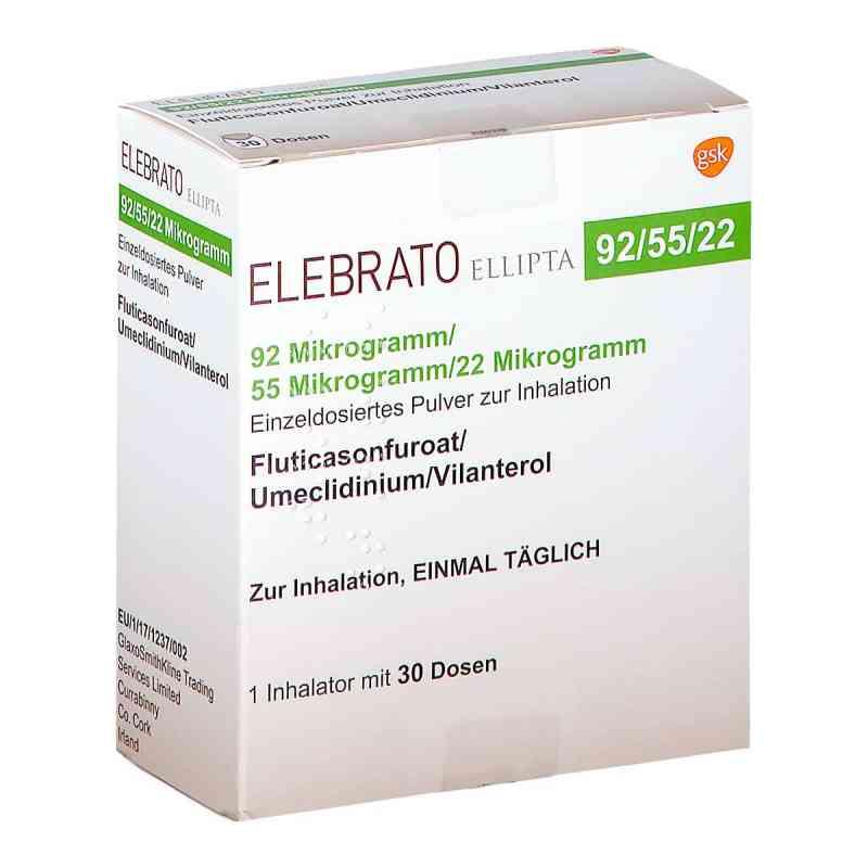 Elebrato Ellipta 92 [my]g/55 [my]g/22 [my]g ed.P.z  bei apo.com bestellen