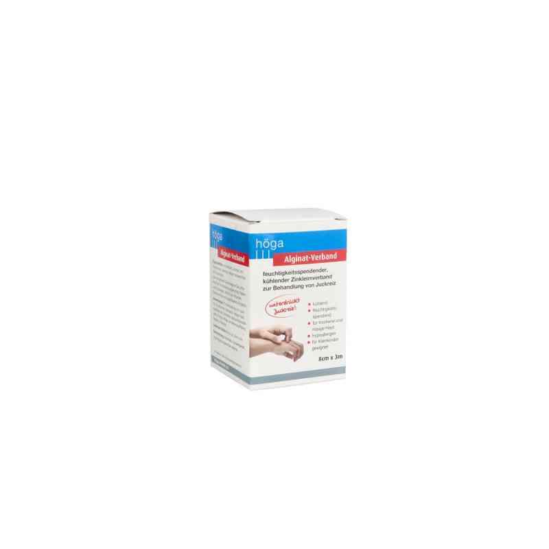 Alginat-verband 8 cmx3 m kühlender Zinkleimverband  bei apo.com bestellen