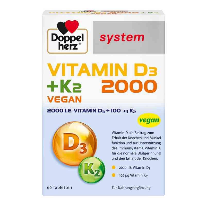 Doppelherz Vitamin D3 2000+k2 system Tabletten  bei apo.com bestellen