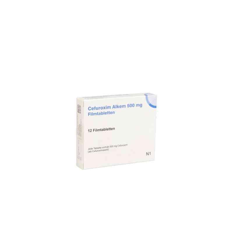 Cefuroxim Alkem 500 mg Filmtabletten  bei apo.com bestellen