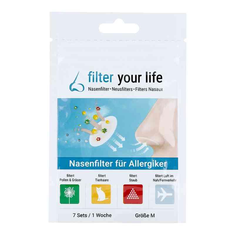 Filter Your Life Nasenfilter für Allergiker Größe m  bei apo.com bestellen
