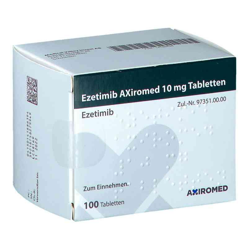Ezetimib Axiromed 10 mg Tabletten  bei apo.com bestellen