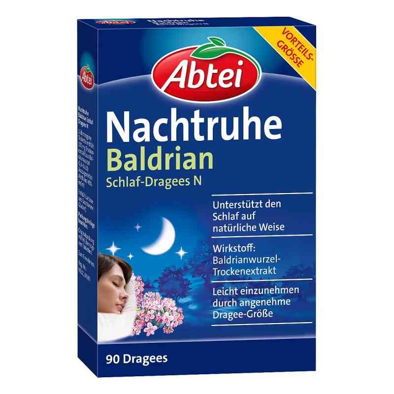 Abtei Nachtruhe Baldrian Schlaf-dragees N  bei apo.com bestellen