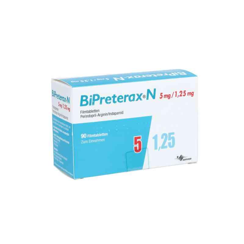 Bipreterax N 5 mg/1,25 mg Filmtabletten  bei apo.com bestellen