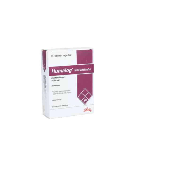 Humalog 100 E/ml Patrone Injektionslösung  bei apo.com bestellen