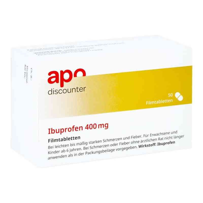 Ibuprofen 400 mg Apodiscounter Filmtabletten  bei apo.com bestellen
