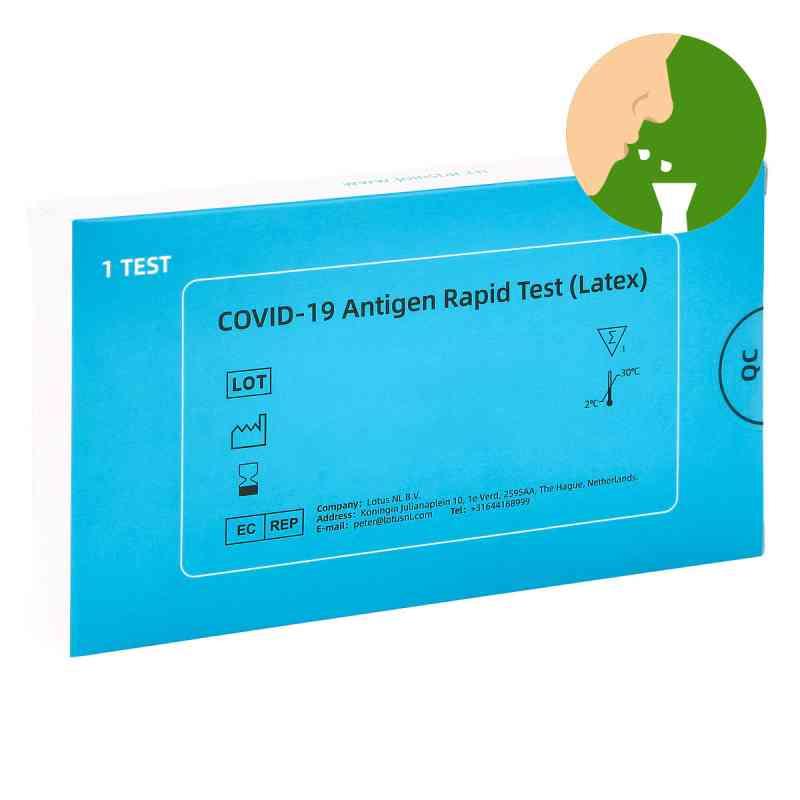 COVID-19 Antigen Saliva Schnelltest (Latex) Spucktest  bei apo.com bestellen