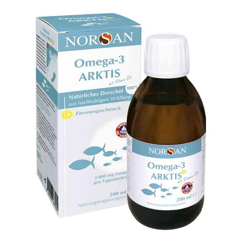 Norsan Omega-3 Arktis Fischöl Mit Vitamin D3 Flüssig  bei apo.com bestellen