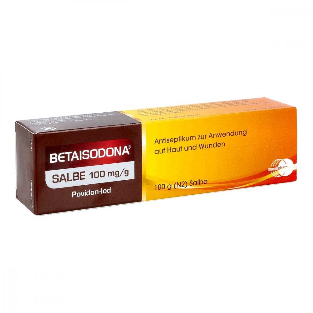 Betaisodona Salbe Schwangerschaft