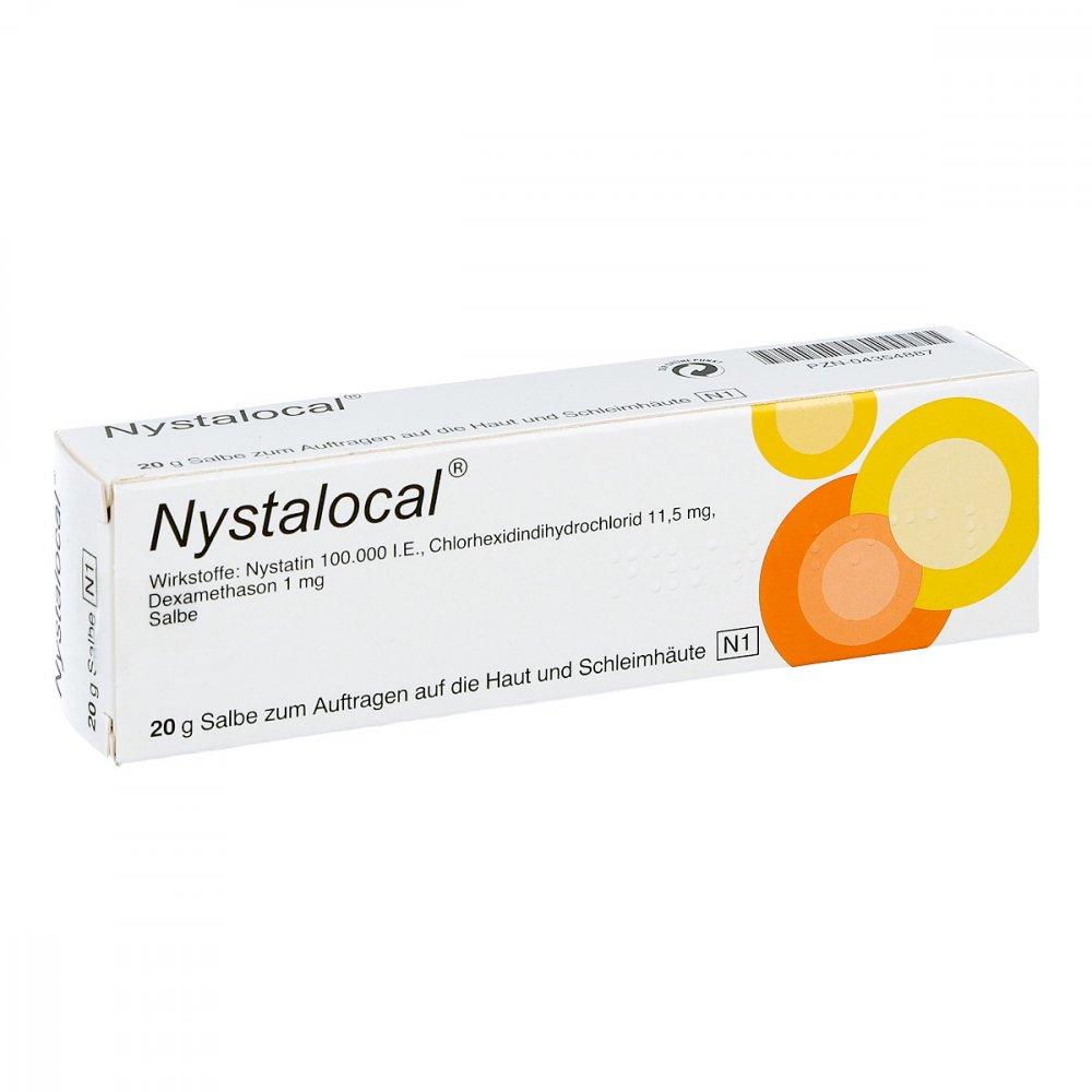 Nystalocal Salbe 20 g günstig in der Online Apotheke apo