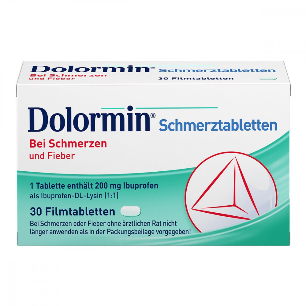 dolormin schmerztabletten 30 stk g nstig bei. Black Bedroom Furniture Sets. Home Design Ideas