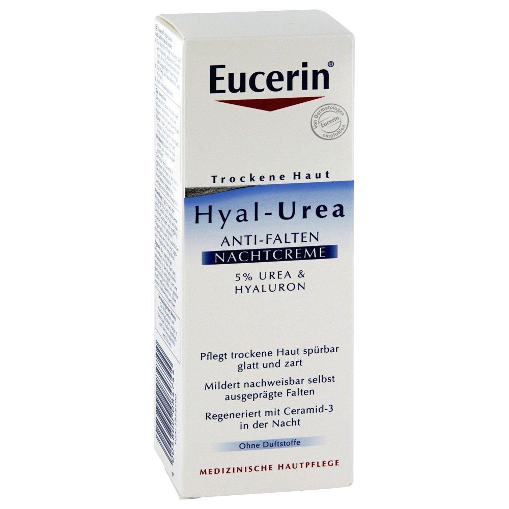 eucerin th hyal urea anti falten nachtcreme 50 ml. Black Bedroom Furniture Sets. Home Design Ideas