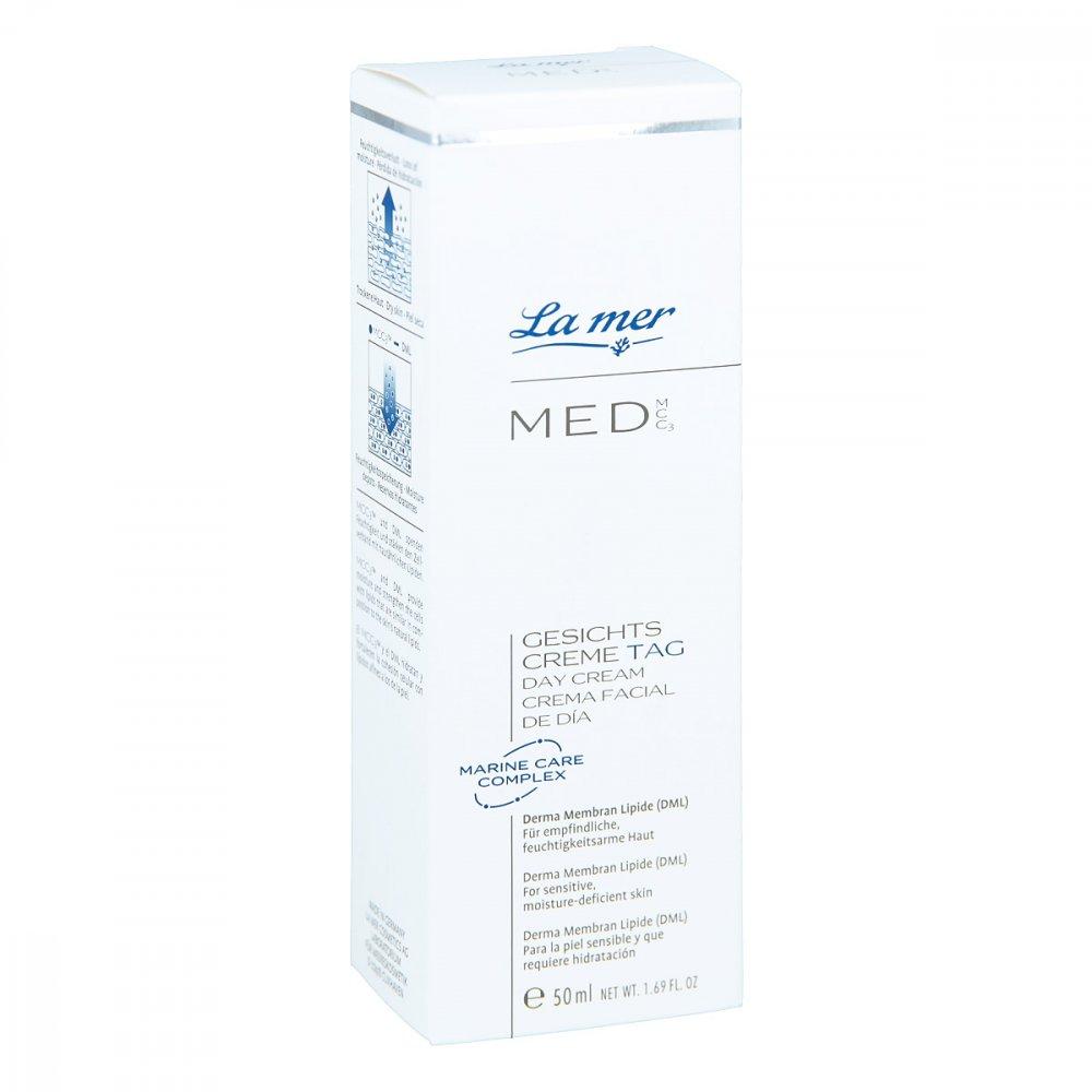 La Mer Med Neu Gesichtscreme Tag Ohne Parfm 50 Ml Creme De 100ml Bei Bestellen