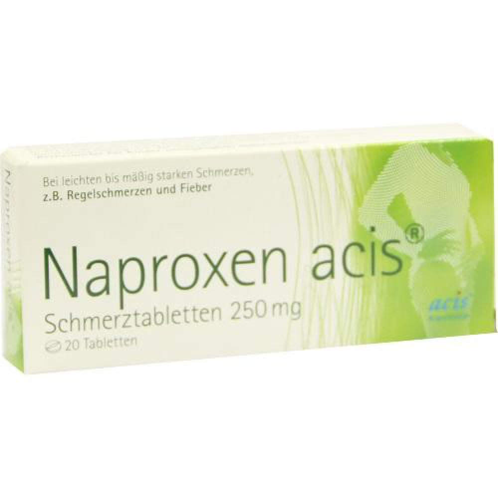 naproxen acis schmerztabletten 250mg 20 stk. Black Bedroom Furniture Sets. Home Design Ideas
