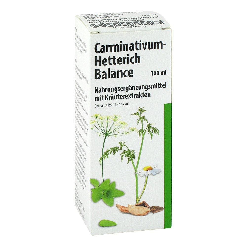 carminativum hetterich balance tropfen zum einnehmen 100 ml. Black Bedroom Furniture Sets. Home Design Ideas