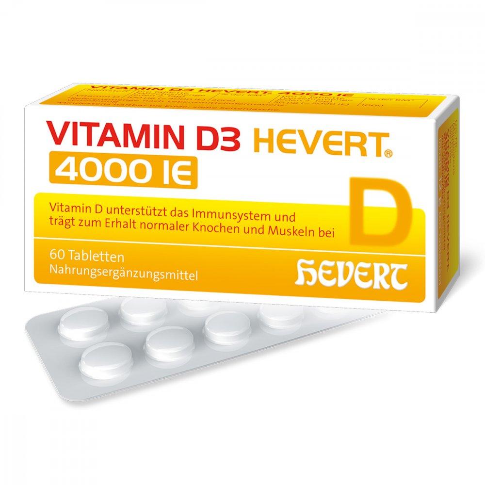 vitamin d3 hevert i e tabletten 60 stk. Black Bedroom Furniture Sets. Home Design Ideas