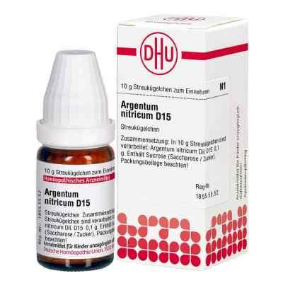 Argentum Nitricum D 15 Globuli  bei apo.com bestellen