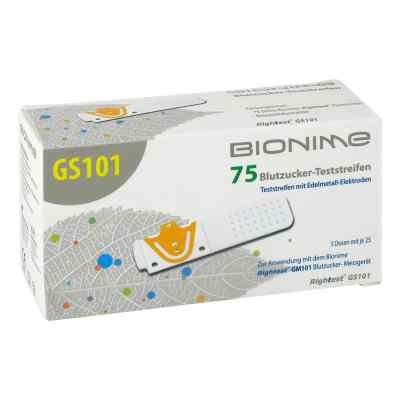Bionime Gs101 Aok Blutzuck.teststr. 75 Rightest  bei apo.com bestellen