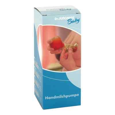 Milchpumpe Hand Kunststoffball mit Glas  bei apo.com bestellen