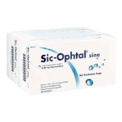 Sic Ophtal sine Augentropfen  Augentropfen  bei apotheke-online.de bestellen