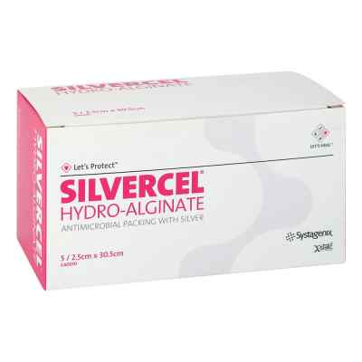 Silvercel Hydroalginat Tamponade 2,5x30,5cm  bei apo.com bestellen