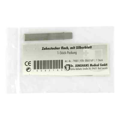 Zahnstocher Silberblatt flach  bei apo.com bestellen