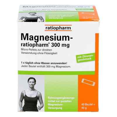 Magnesium Ratiopharm 300 mg Micro Pell.m.gran.  bei apo.com bestellen