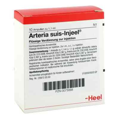 Arteria Suis Injeel Ampullen  bei apo.com bestellen