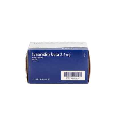 Ivabradin beta 2,5 mg Filmtabletten  bei apo.com bestellen
