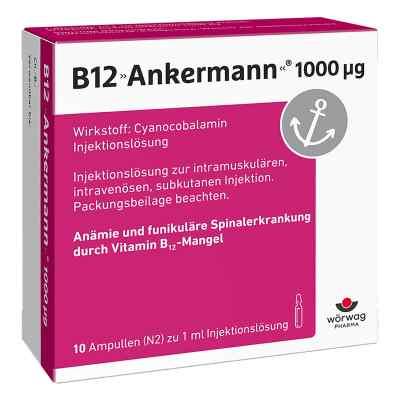 B12 Ankermann 1000 [my]g Ampullen  bei apo.com bestellen