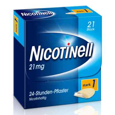 Nicotinell 21mg/24-Stunden-Nikotinpflaster, Stark (1)  bei apo.com bestellen