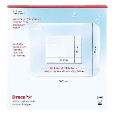 Dracopor waterproof Wundverband steril 8x10cm  bei apo.com bestellen