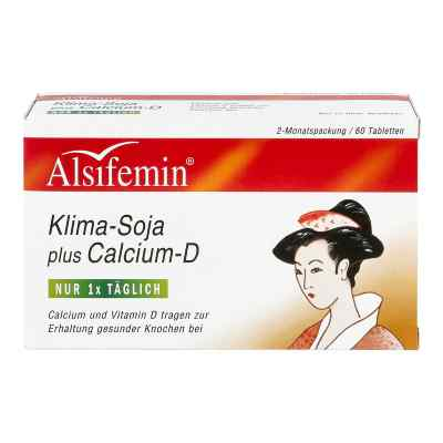 Alsifemin Klima Soja+calcium+d3 Tabletten