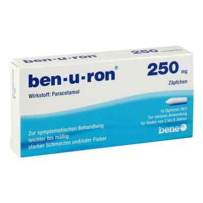 Ben-u-ron 250mg  bei apo.com bestellen