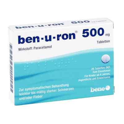 Ben-u-ron 500mg  bei apotheke-online.de bestellen