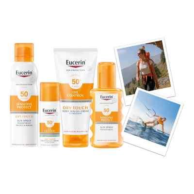 Eucerin Sun Sensitive Protect Spray Transparent LSF 30  bei apo.com bestellen