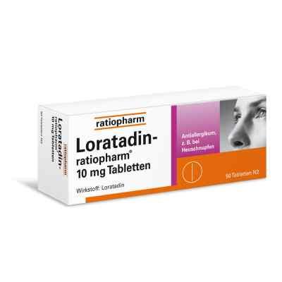 Loratadin-ratiopharm 10mg  bei apotheke-online.de bestellen
