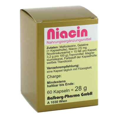 Niacin Kapseln  bei apo.com bestellen