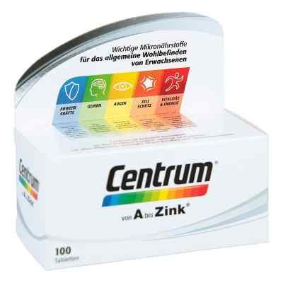Centrum A-zink+floraglo Lutein Caplette